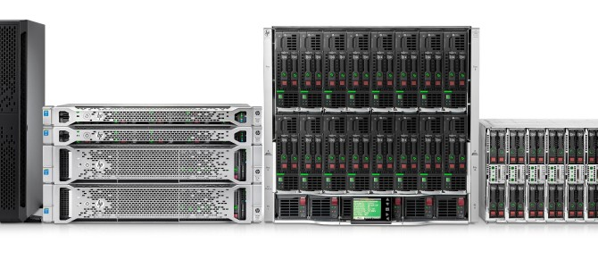 HP Enterprise ProLiant Gen9